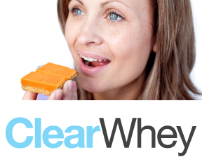 clearWhey-Button